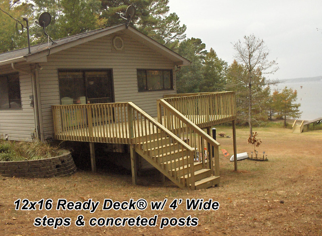 12x16 ready deck ready deck with 4 39 wide steps and for 12x16 deck plans