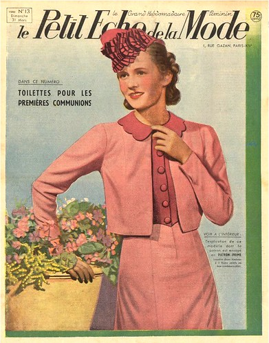 Images of 1940s fashion