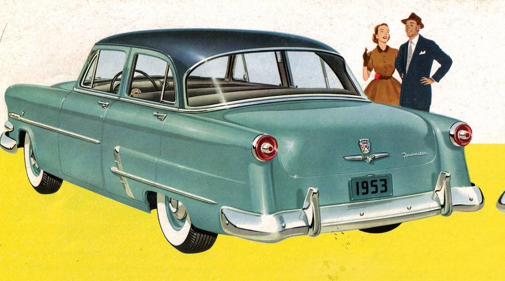 1953 ford customline 4 door sedan coconv flickr for 1953 ford customline 4 door