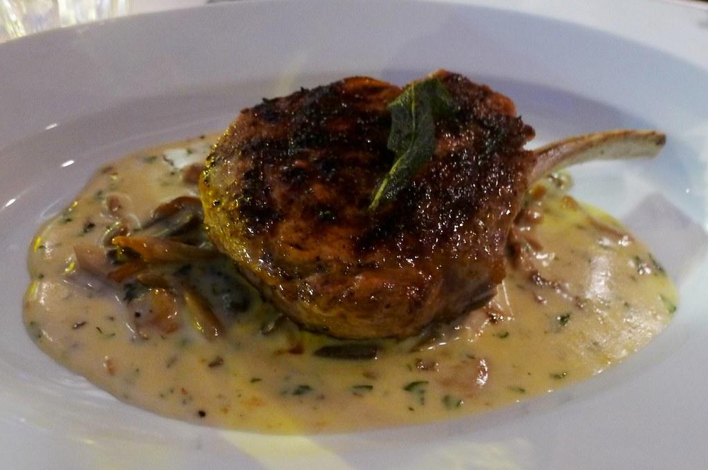 Carni - Vitello | grilled 10oz milk fed veal chop, roasted ...