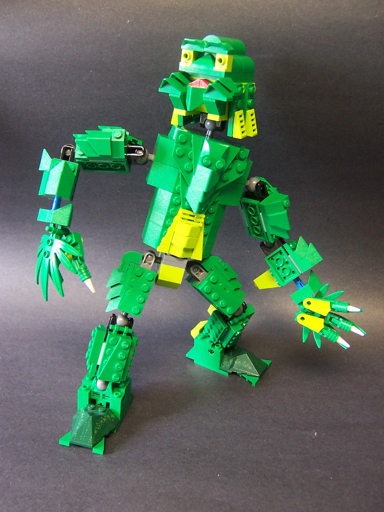 creature from the green lego bin and fifth in monsters