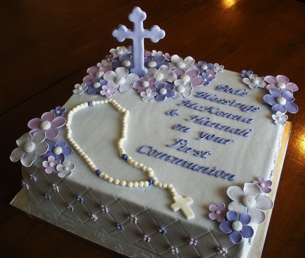 First Communion Cake Images : First Communion Cake Jennifer Flickr