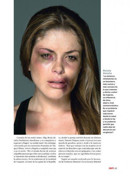 Nataly Uma 241 A Fotograf 237 A Ricardo Pinzon Revista Gente