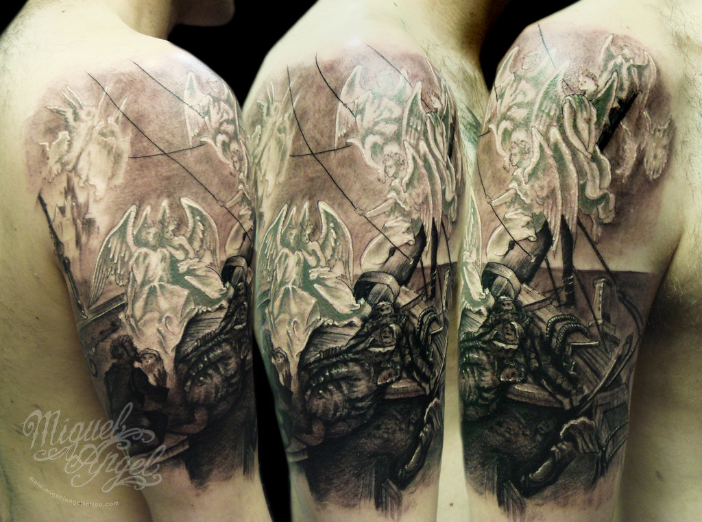 The Rime Of The Ancient Mariner Gustave Dor 233 174 Tattoo Flickr