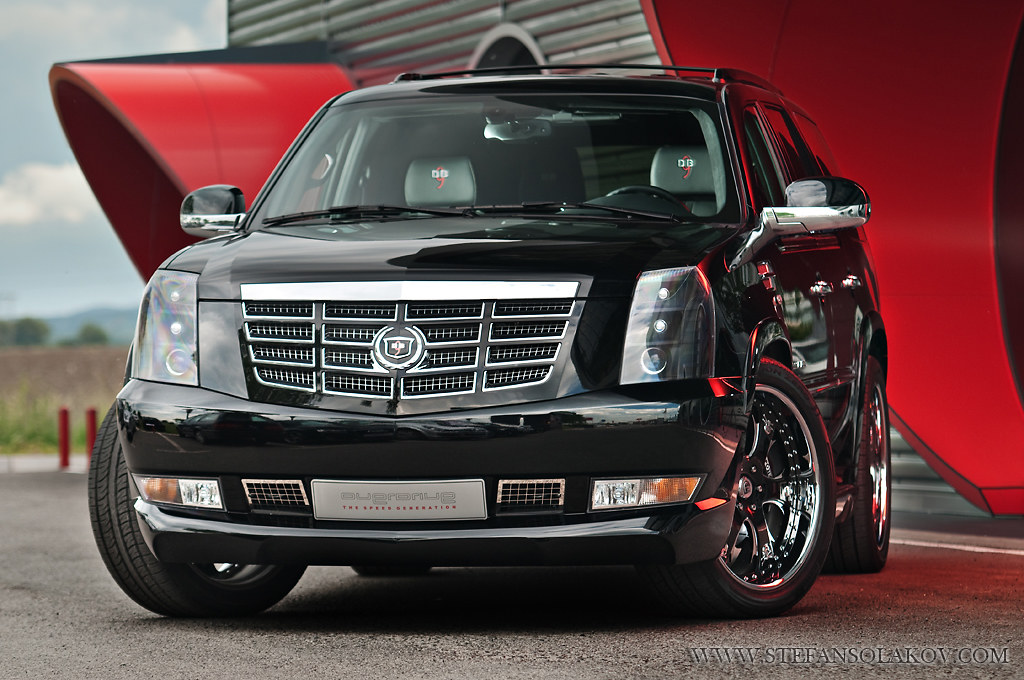 Custom Cadillac Escalade This Escalade Has Been Modified