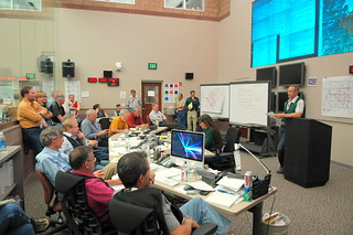 Las Conchas Fire briefing, Emergency Operations Center | by Los Alamos National Laboratory