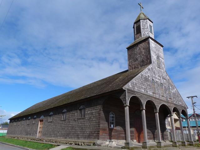 Iglesia de madera de Isla Grande de Chiloé (Chile)