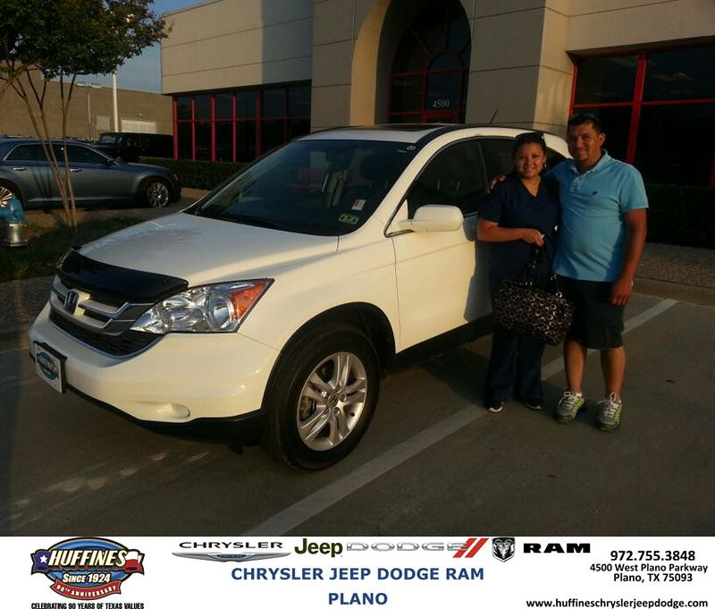 Plano Dodge: Congratulations To Maria Vasquez On Your #Honda #CR-V Purc