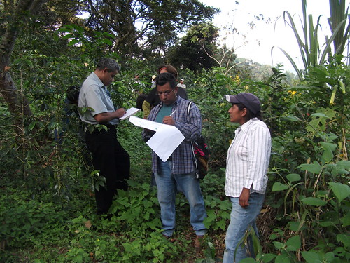 Organic certifiers auditing an operation in Mexico