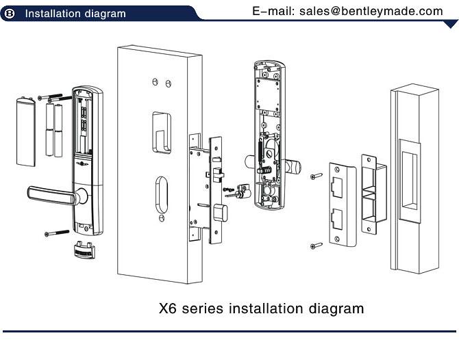Hotel Door Lock Installation Diagram We Are Benderly