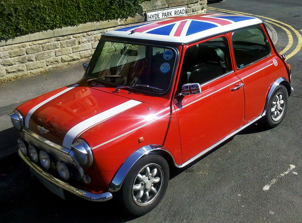 union jack mini cooper very british roman gmeiner flickr. Black Bedroom Furniture Sets. Home Design Ideas