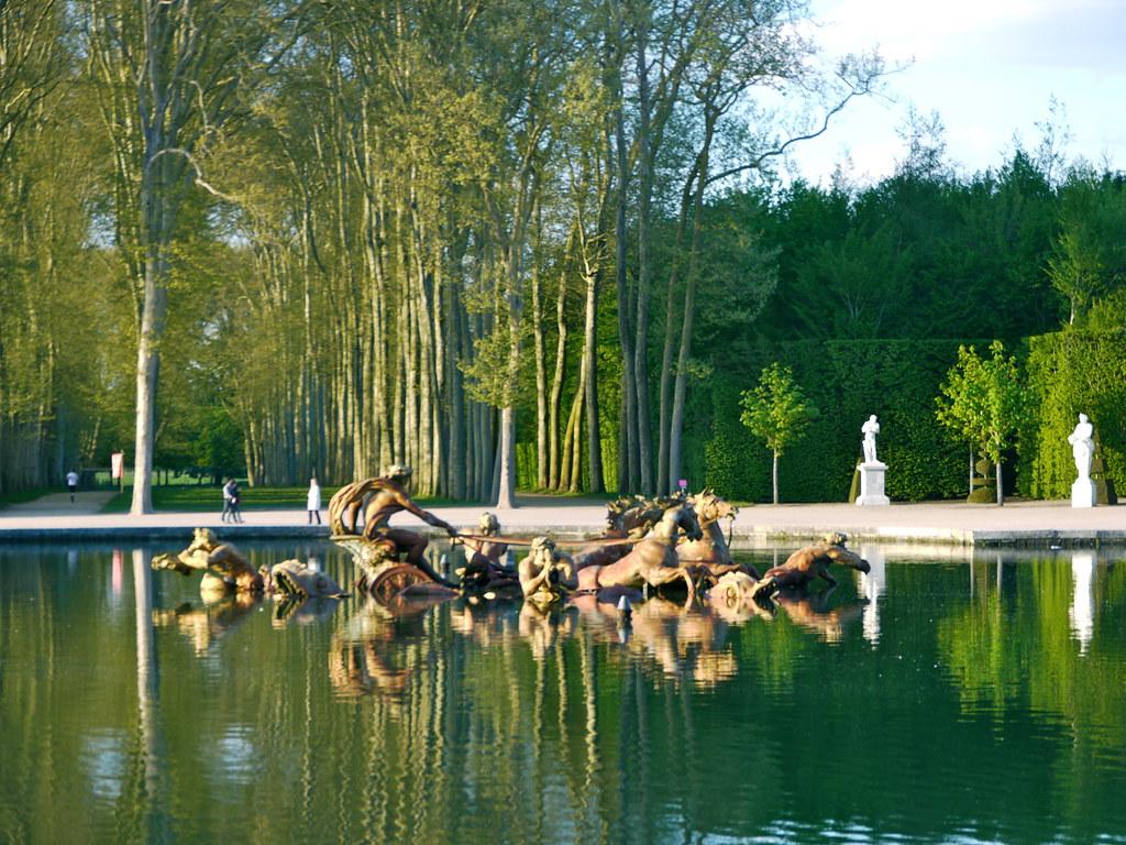 Versailles yvelines parc du ch teau bassin d apollon for Yvelines parc