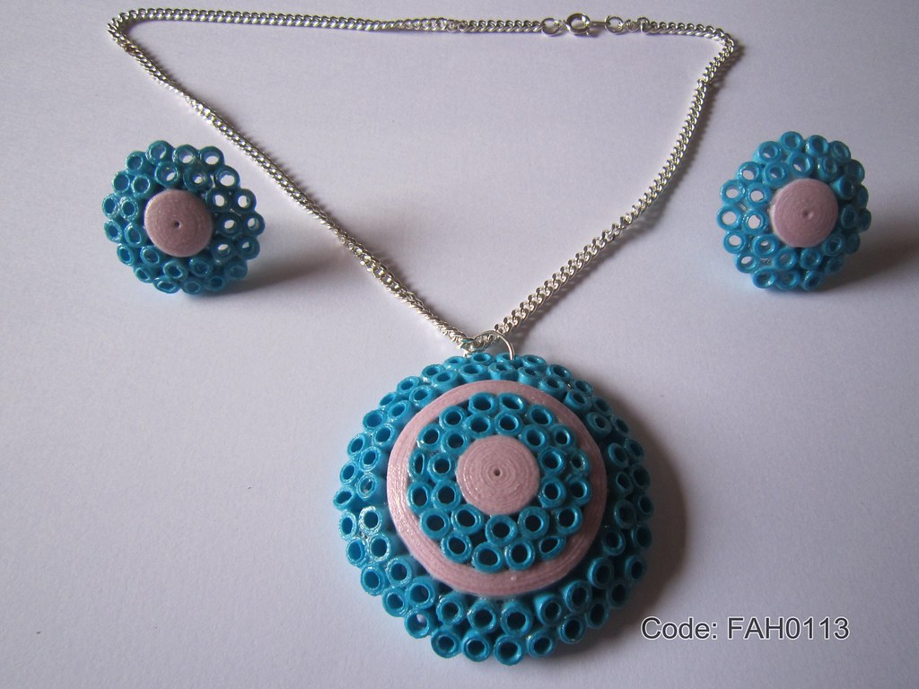 Handmade Jewelry Paper Quilling Set Fah0113 1 Flickr