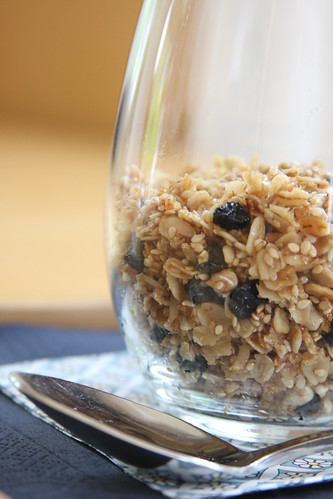 Olives for Dinner | Homemade Granola with Dried Blueberries | by Olives for Dinner
