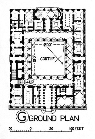 Palazzo Farnese Plan Title Palazzo Farnese Other Title