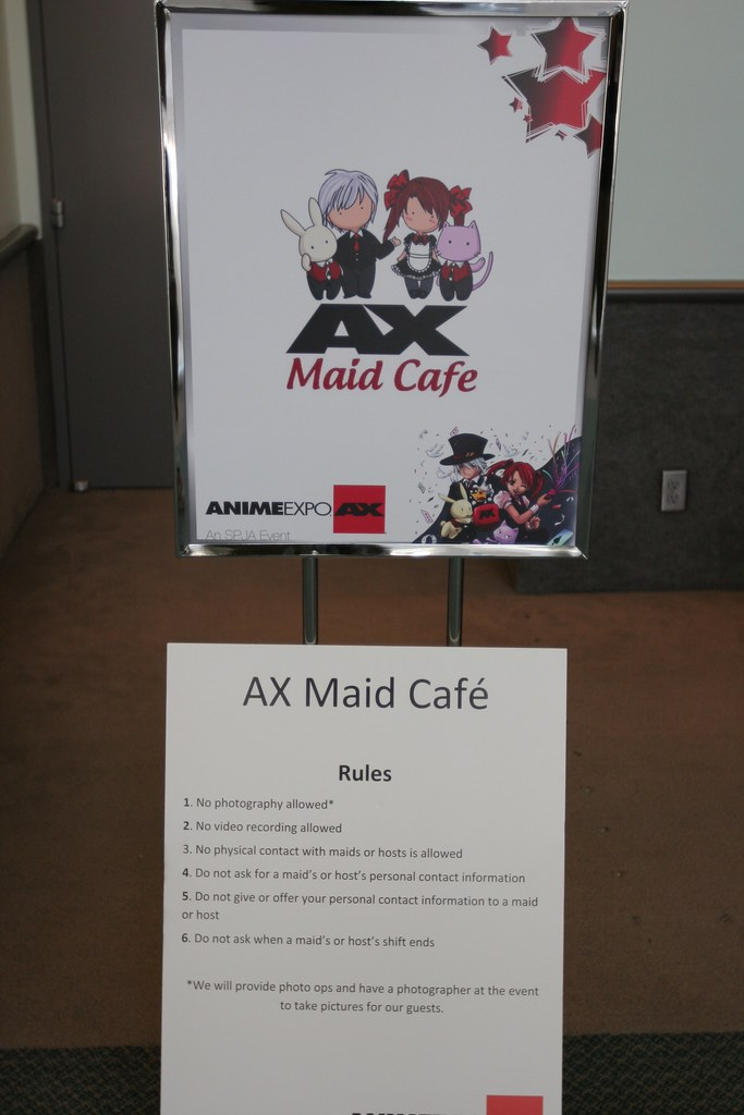 Maid Cafe Rules Anime