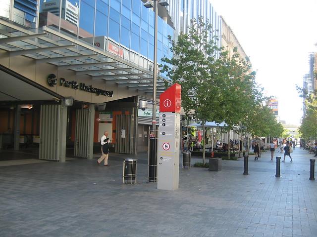 transperth underground station