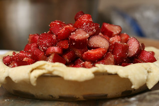 strawberry rhubarb pie 3 | by crumblycookie