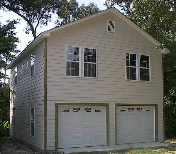 2 Car Garage With Apartment Plans 2 Car Garage Ideas Log: 2 Story Garage