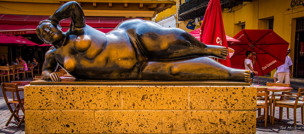 2014 Cartagena Columbia Fernando Botero Sculpture Quot L