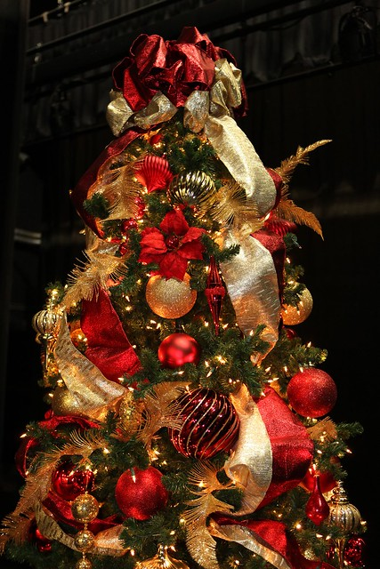 Decorating Ideas > Red And Gold 9ft Christmas Tree  Flickr  Photo Sharing! ~ 043418_Christmas Tree Decoration Ideas Gold And Red