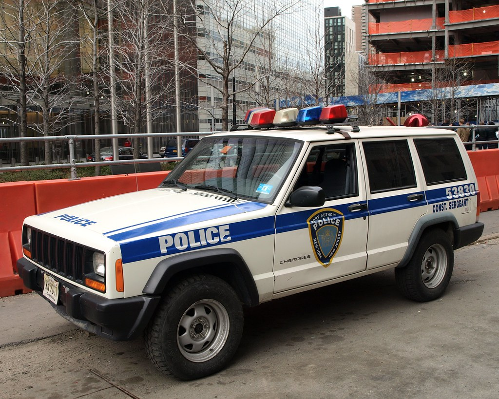 PAPD Port Authority Jeep Cherokee Police Car, World Trade ...