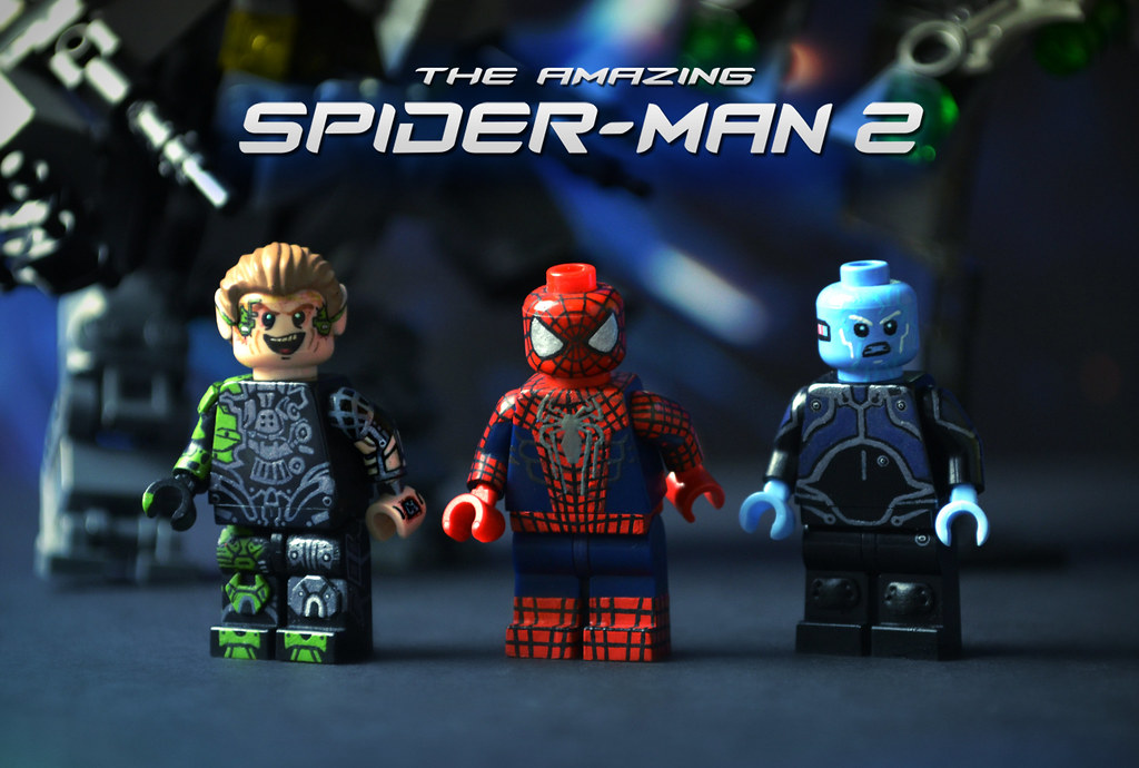 Lego the amazing spider man 2 finally after a little - Lego spiderman 3 ...