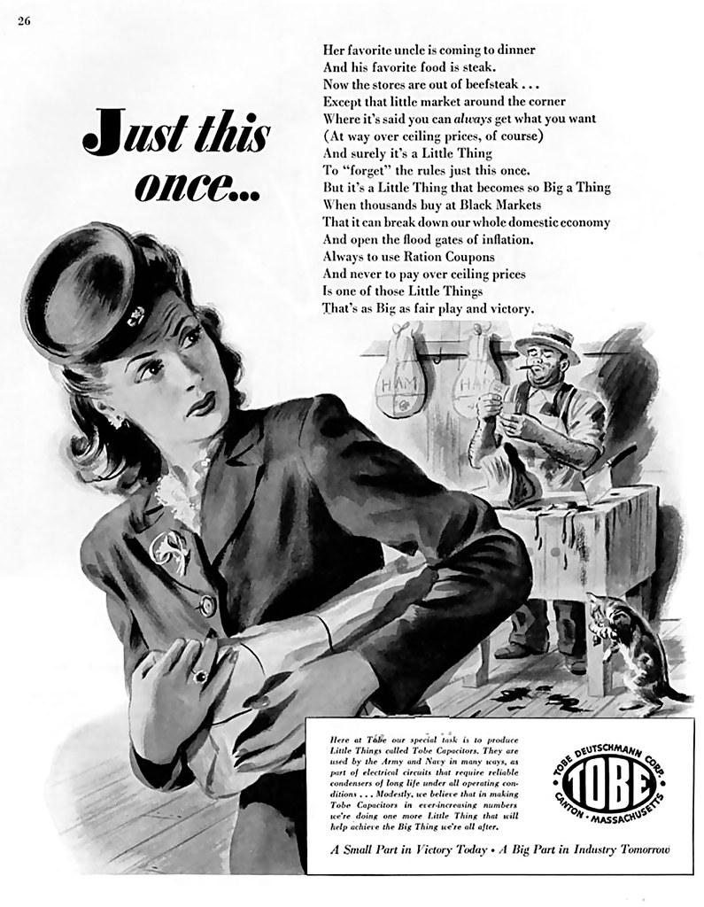 1944 black market james vaughan flickr. Black Bedroom Furniture Sets. Home Design Ideas