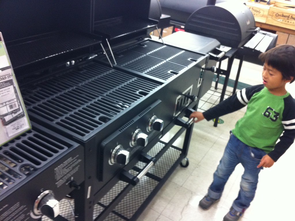 Tri Mate Charcoal And Gas Grill By Authentic Smoke