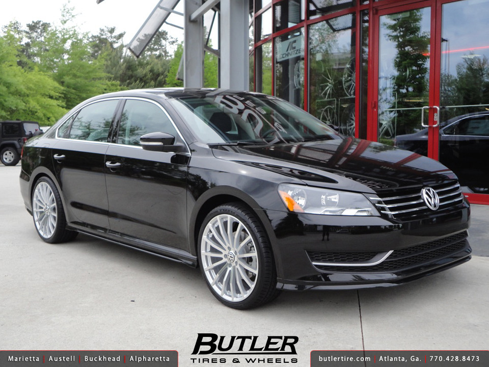 Vw Passat With 20in Tsw Mallory Wheels Additional