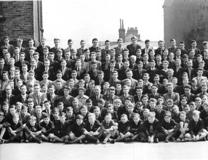 belle vue grammar school for boys  bradford  1959