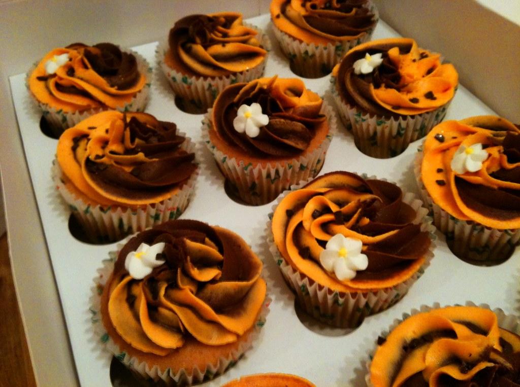 Cakes Escape Chocolate Orange Cupcakes Chris Isherwood