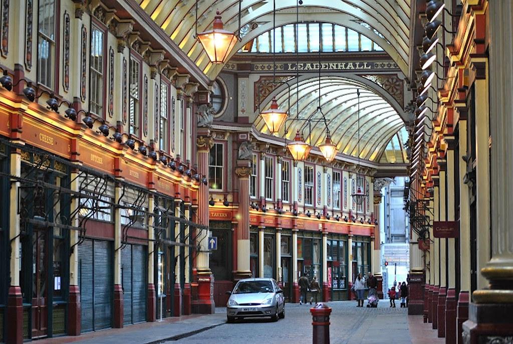 Leadenhall Market London Leadenhall Market Is A Covered