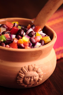 Black Bean Salsa | by pastryaffair
