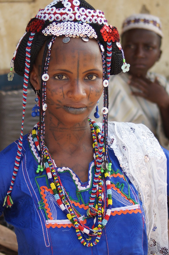 Fulani woman at Market, Serti, Nigeria | Rosemary Lodge ...