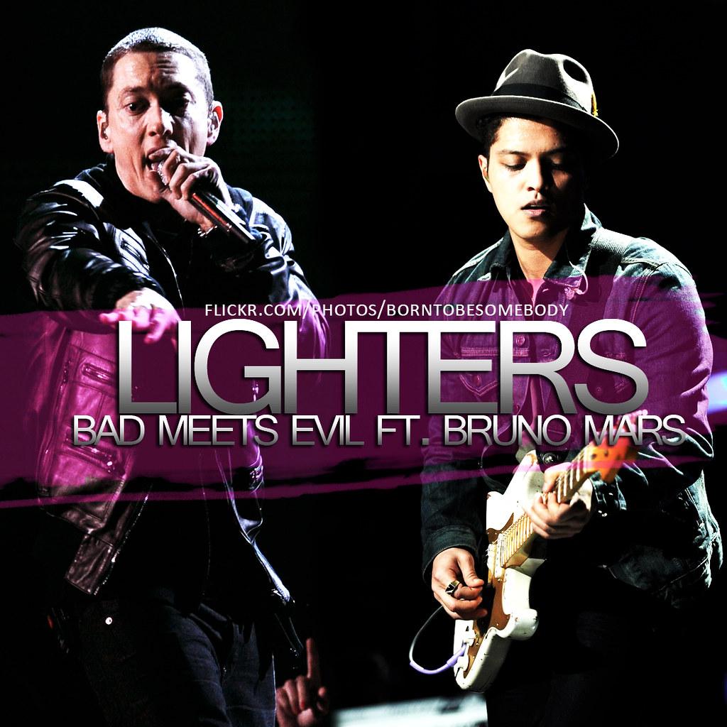 Lighters (eminem  bruno mars) sami