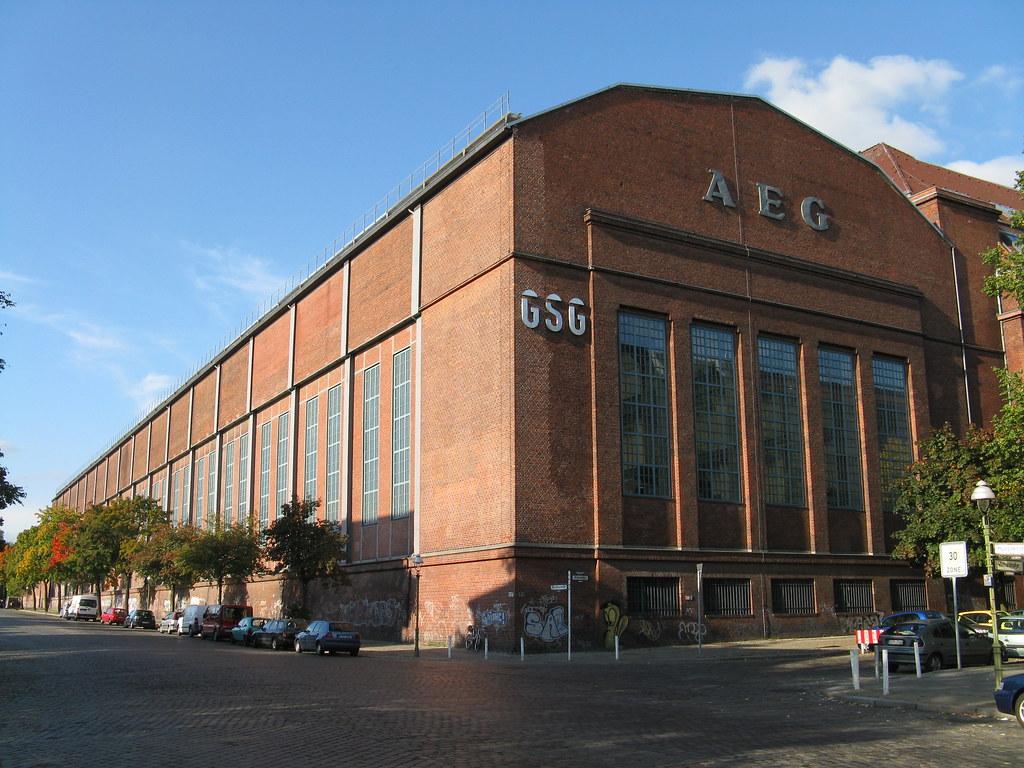 Aeg montagehalle f r gro maschinen peter behrens 1912 for Peter behrens aeg turbine factory