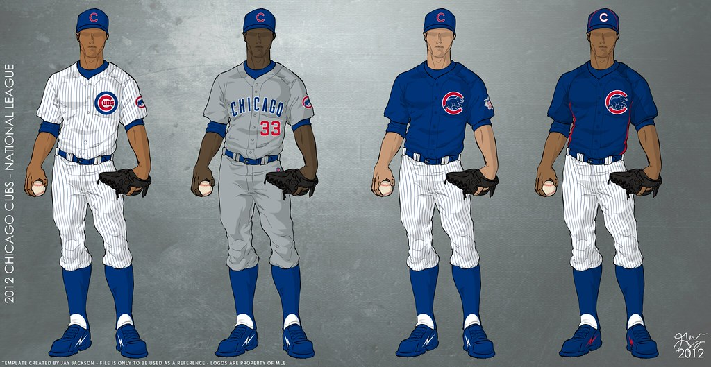 Chicago Cubs 2012 Uniforms Uniforms O Be Worn For The