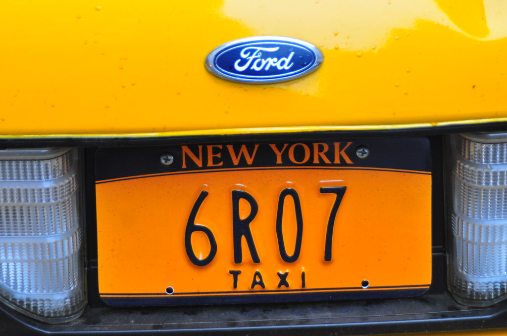 License Plate Camera >> Prop New York NYC Taxi License Plate | Triborough | Flickr