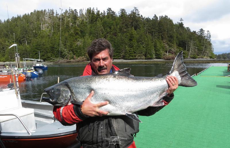 46 5 pound chinook salmon at langara fishing lodge flickr for Langara fishing lodge