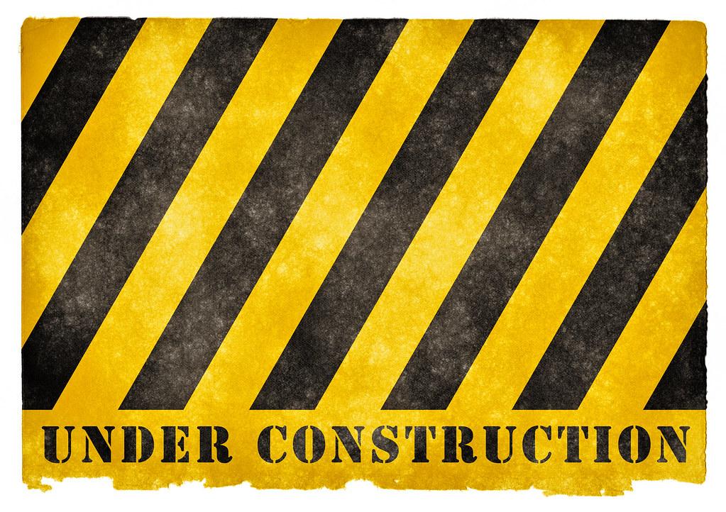 Under Construction Grunge Sign | Grunge textured UNDER ...