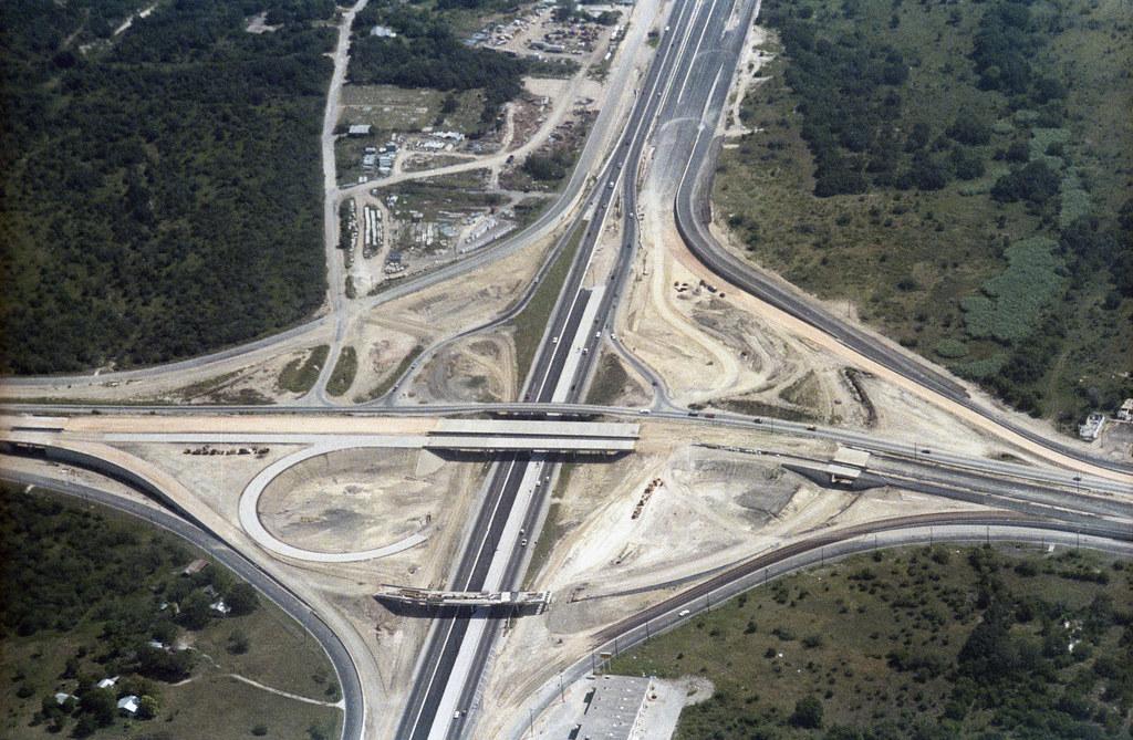 Loop 1604 Amp Interstate 35 San Antonio Tx Usa Facing