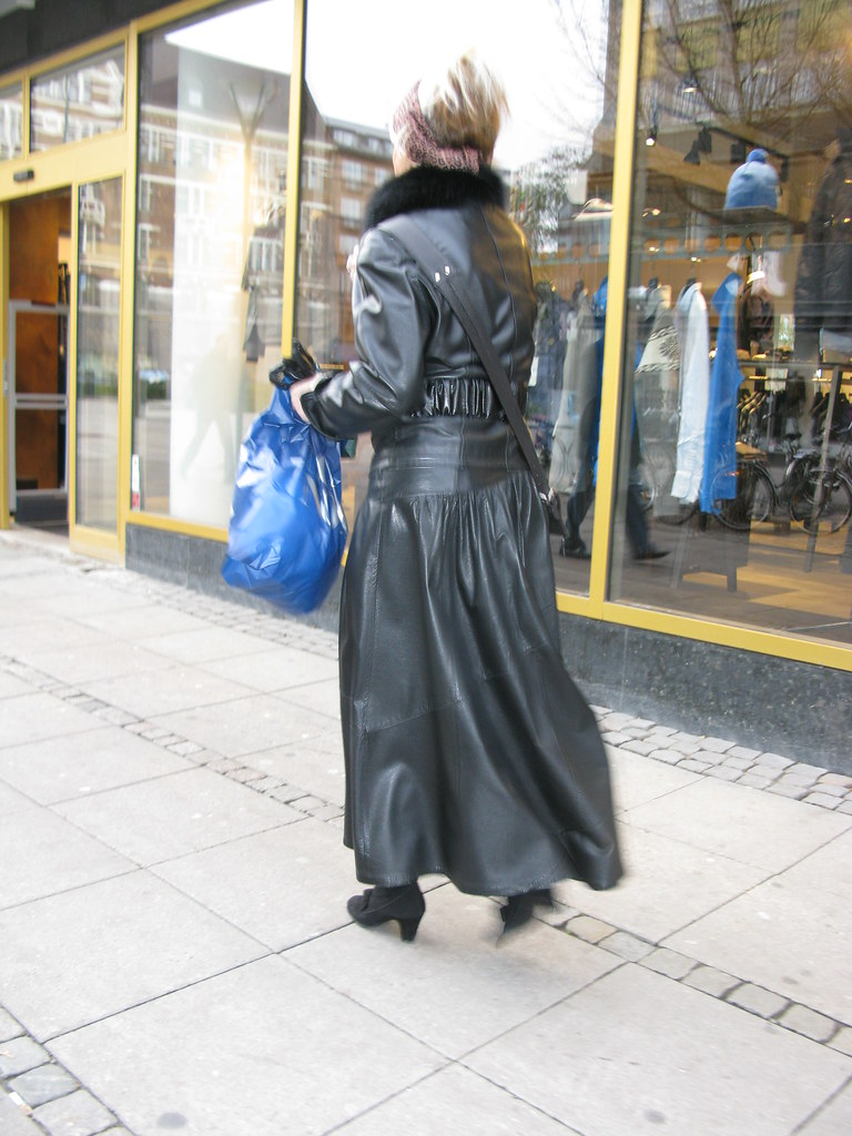 Grandma In Complete Leather Outfit  Cold And Naked  Flickr-1283