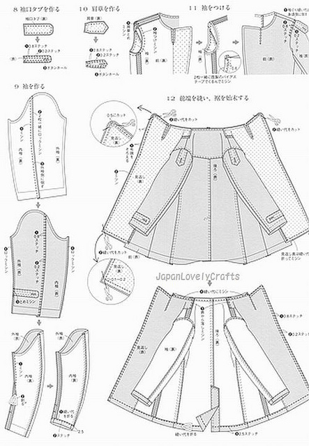 All Sizes MEN'S COAT BY RYUICHIRO SHIMAZAKI JAPANESE SEWING Unique Mens Trench Coat Pattern