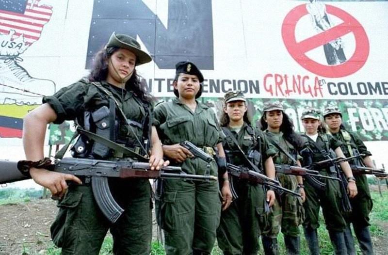 Resultado de imagen para GUERRILLERAS COLOMBIA