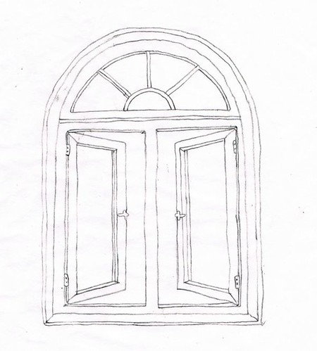 Palladian Window Window Drawing By Daliacouriel