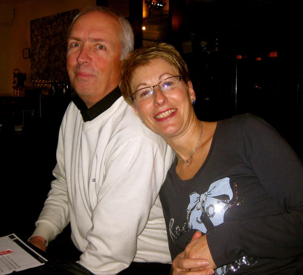 Gordon And Carolyn At YES Christmas Party