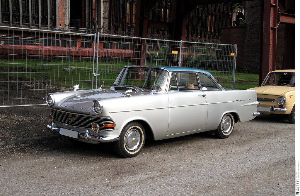 1960 Opel Rekord P2 Coup 233 04 The P2 Kapit 228 N Came To