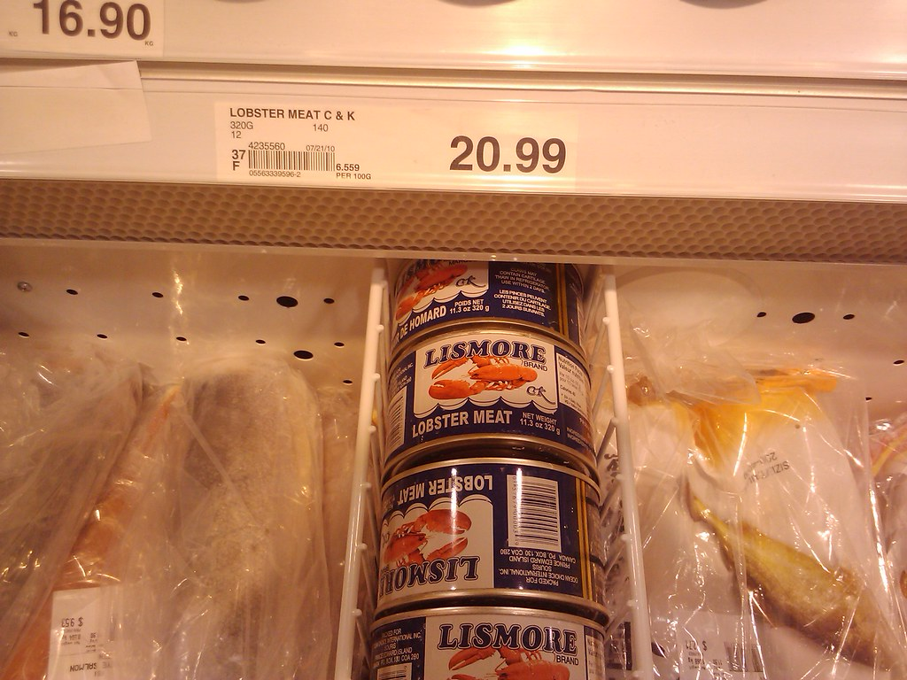 Canned Lobster Meat | Based on stereotypical television ...