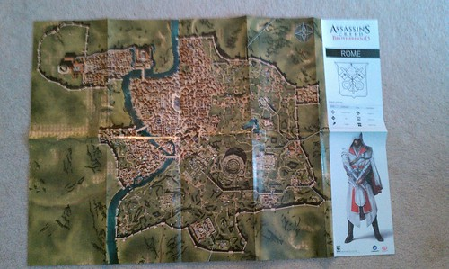 Assassin's Creed Brotherhood map | by ryan.buck